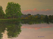 Patrick ODriscoll - Sunset at the Lake
