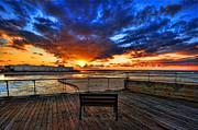 Ron Shoshani - sunset at the port of...