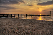 Sunset Beach Print by Ian Mitchell