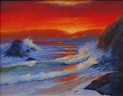 Wildlifeartgallerie Galleries - Sunset Beach
