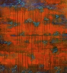 Meditative Paintings - Sunset by Betty OHare