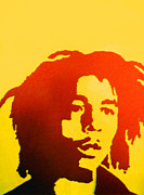 Jamaican Sunset Posters - Sunset Bob Marley Poster by Duwayne Washington