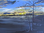 Michelle Young - Sunset by Lake Wheeler