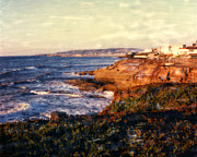 Surf Photos Art Originals - Sunset Cliffs by Glenn McNary