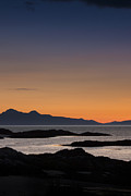 Alex Saunders - Sunset Cuillin Mountains...