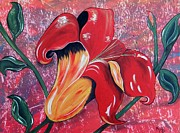 Cindy Micklos - Sunset Day Lily