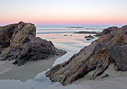 Steven Ralser Prints - Sunset  Denhams Beach. Print by Steven Ralser