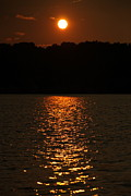 Finger Lakes Photo Originals - Sunset fading on Conesus Lake by Steve Clough
