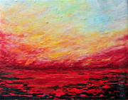 Teresa Wegrzyn - Sunset Fiery