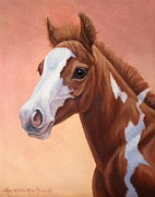 Kathleen  Hill - Sunset Foal