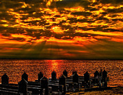 Nick Zelinsky - Sunset from Lavallette