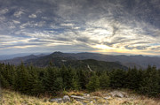 All - Sunset from Mt Mitchell Blue Ridge Parkway by Dustin K Ryan