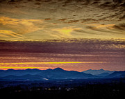 Asheville Posters - Sunset from the Asheville Reservoir Poster by Asheville Visions Photography