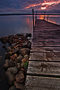 Todd Hanes - Sunset from the Dock