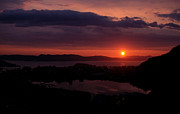 Norwegian Sunset Prints - Sunset Print by Giorgio Galeotti
