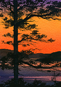 Seacoast Prints - Sunset Glow Print by James Williamson