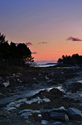 Julie Hodgkins - Sunset Harpswell Maine