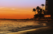 Escape Photo Originals - Sunset in Hawaii by Amyn Nasser