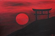Monica Georg - Sunset in Japan