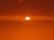 Sunset In Kona Print by Athala Carole Bruckner
