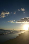 Frederico Borges Photo Prints - Sunset in Rio Print by Frederico Borges