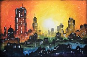 Amy Giacomelli - Sunset In the City
