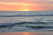 Linda Queally Metal Prints - Sunset in Todos Santos Metal Print by Linda Queally