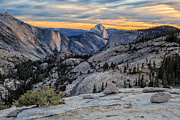 Sunset In Yosemite Print by Doug Oglesby