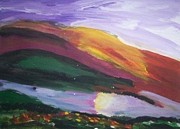 Santeria Paintings - Sunset by Jeanne  Poller