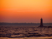 Amie Lucas - Sunset Lighthouse in...