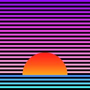 Gradations Posters - Sunset Poster by Lyle Hatch