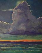 Sunset Moonglow Print by Jim Noel