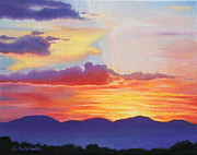 Kristine Mueller Griffith - Sunset Mountain...