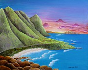 Carol Sabo - Sunset Oahu Hawaii