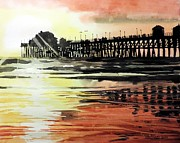 Tom Riggs - Sunset Oceanside Pier