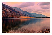 Struckle Framed Prints - Sunset On Jenny Lake Framed Print by Kathleen Struckle
