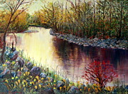 Marie Bergman - Sunset On Mission Creek