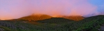 Lafayette Prints - Sunset on Mount Lafayette Print by Gordon Ripley