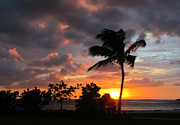 Melinda Saminski Metal Prints - Sunset on Sanibel Metal Print by Melinda Saminski
