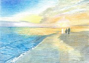 Eve-Ly Villberg - Sunset on the beach