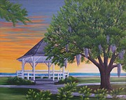 Valerie Chiasson-Carpenter - Sunset on the Gazeebo
