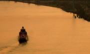 Linda Knorr Shafer - Sunset On The River Bend