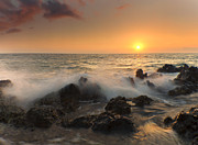 Mike  Dawson - Sunset on the Rocks