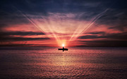 Bess Hamiti - Sunset on the ship