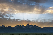 Sandra Bronstein - Sunset on the Tetons