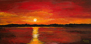 Julia Robinson - Sunset on the Water