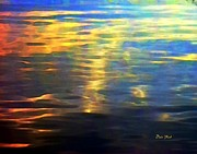 Dale Ford Prints - Sunset on Water Print by Dale   Ford
