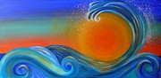 Reina Cottier - Sunset on Waves