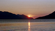 Denyse Duhaime - Sunset Over Cook Inlet...