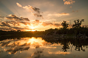Doug McPherson - Sunset over Eco Pond